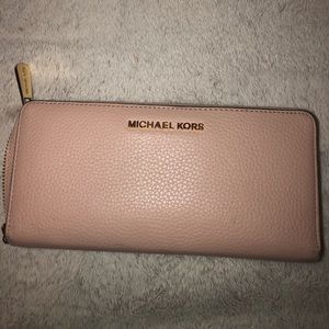 Light pink MK wallet